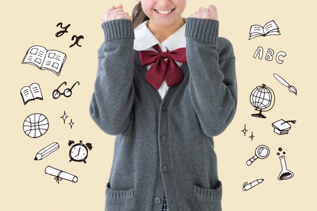 語学留学をしたい女子高校生