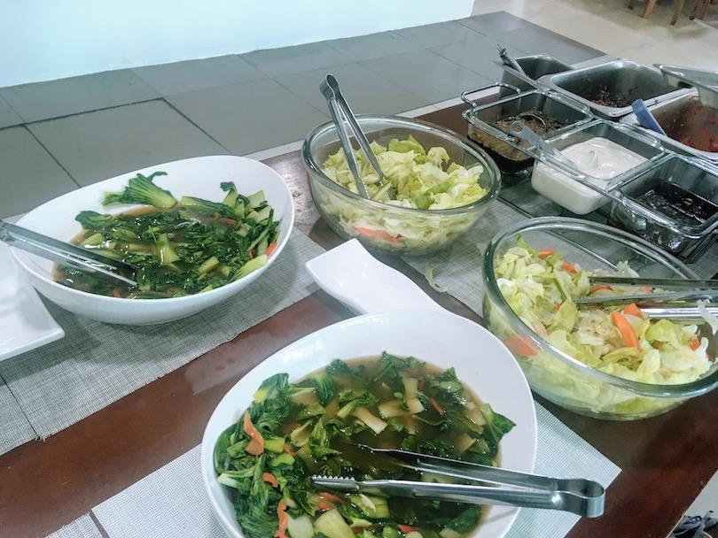 fella2昼食のサラダ