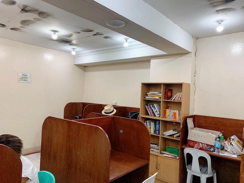 3d 自習室の様子
